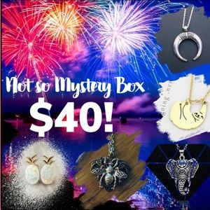 $40 Jewelry Not So Mystery Box Bundle Gift Resell